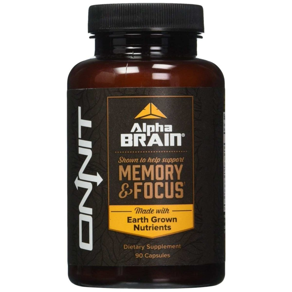 Alpha Brain - 90 Capsules - Onnit Labs-0