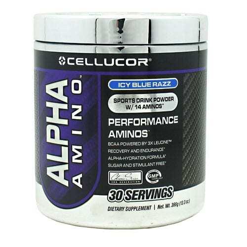 alpha amino icey blue razz
