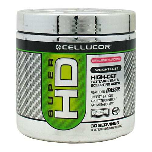 Cellucor Super HD Strawberry Lemonade