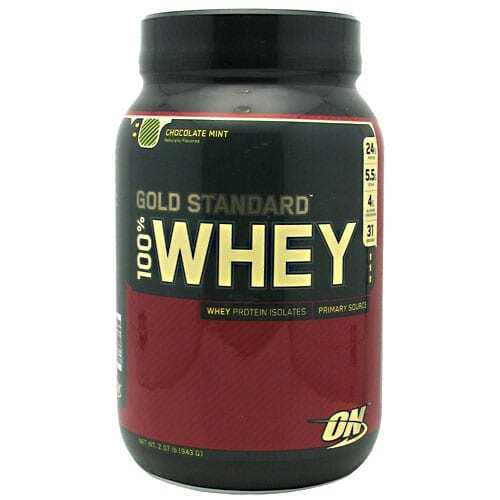 Gold Standard Whey Protein - 2lbs - Chocolate Mint-0