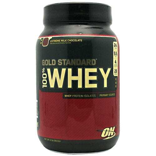 Gold Standard Whey Protein - 2lbs - Extreme Milk Chocolate-0