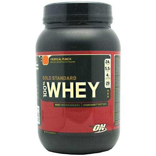 Gold Standard Whey Protein - 2lbs - Tropical Punch-0