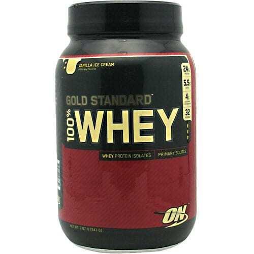Gold Standard Whey Protein - 2lbs - Vanilla Ice Cream-0