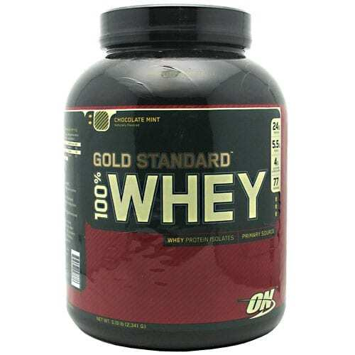 Gold Standard Whey Protein - 5lbs - Chocolate Mint-0