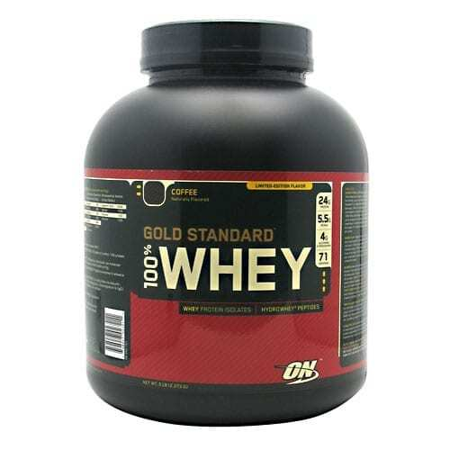 Gold Standard Whey Protein - 5lbs - Coffee-0