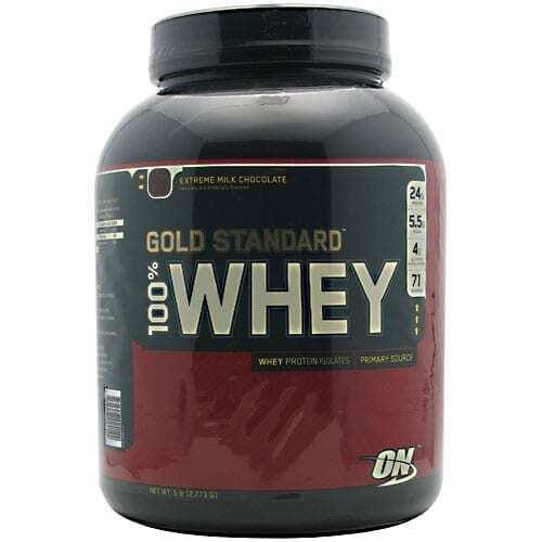 Gold Standard Whey Protein - 5lbs - Extreme Milk Chocolate-0