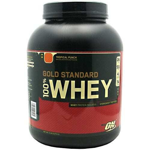 Gold Standard Whey Protein - 5lbs - Tropical Punch-0