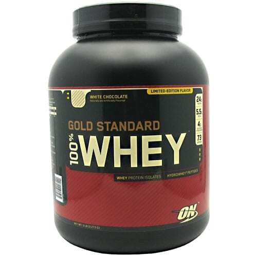 Gold Standard Whey Protein - 5lbs - White Chocolate-0