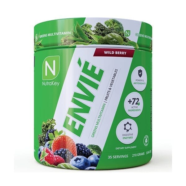 NutraKey Envie Multivitamin - Wild Berry - 35 Servings-0