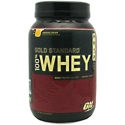 Gold Standard Whey Protein - 2lbs - Banana Cream-0