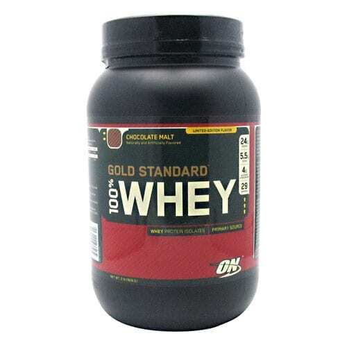 Gold Standard Whey Protein - 2lbs - Chocolate Malt-0