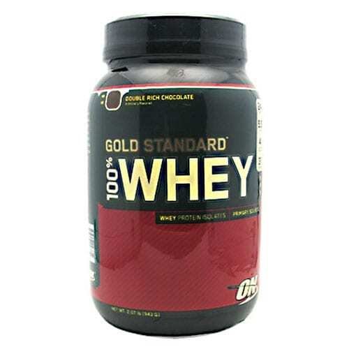 Gold Standard Whey Protein - 2lbs - Double Rich Chocolate-0