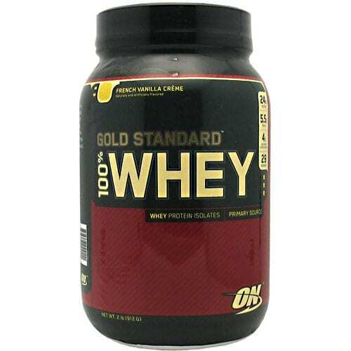 Gold Standard Whey Protein - 2lbs - French Vanilla Creme-0