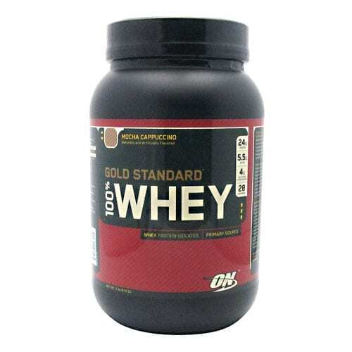 Gold Standard Whey Protein - 2lbs - Mocha Cappuccino-0