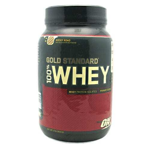 Gold Standard Whey Protein - 2lbs - Rocky Road-0