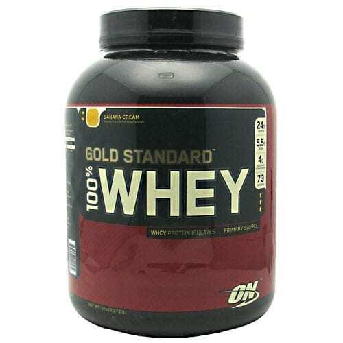 Gold Standard Whey Protein - 5lbs - Banana Cream-0