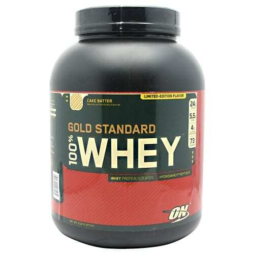 Gold Standard Whey Protein - 5lbs - Cake Batter-0