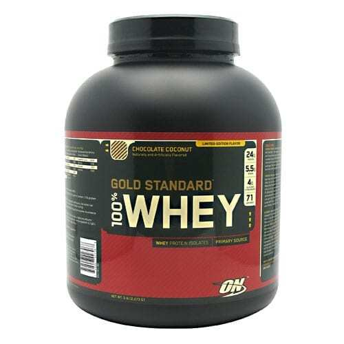 Gold Standard Whey Protein - 5lbs - Chocolate Coconut-0