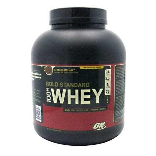Gold Standard Whey Protein - 5lbs - Choose Flavor-0