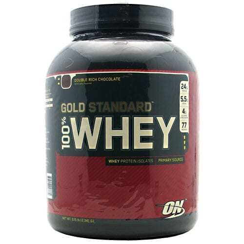 Gold Standard Whey Protein - 5lbs - Double Rich Chocolate-0