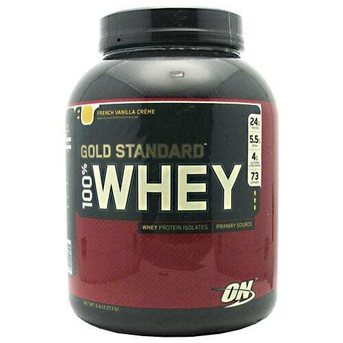 Gold Standard Whey Protein - 5lbs - French Vanilla Creme-0