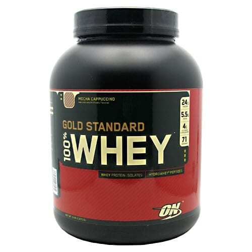 Gold Standard Whey Protein - 5lbs - Mocha Cappuccino-0