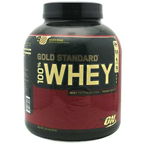 Gold Standard Whey Protein - 5lbs - Rocky Road-0
