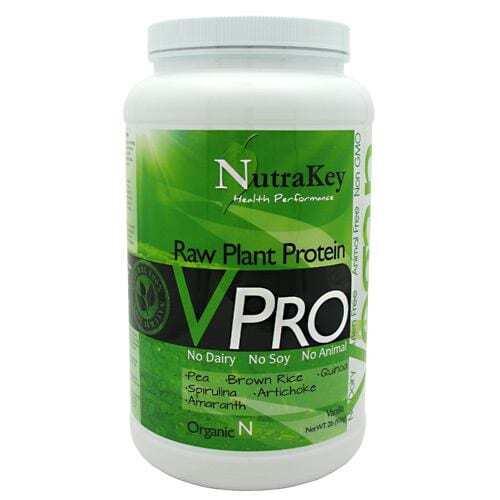 NutraKey VPro Raw Plant Protein - 2lb - Vanilla-0