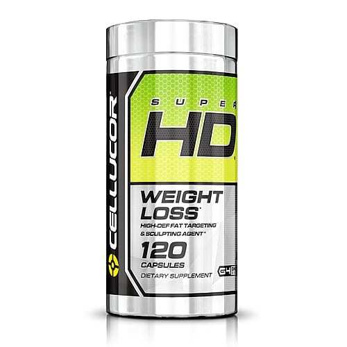 Cellucor Super HD - 60 & 120 Capsules-0