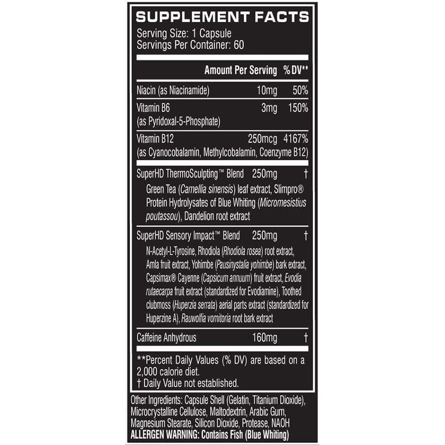 Cellucor Super HD - 60 Capsules-605