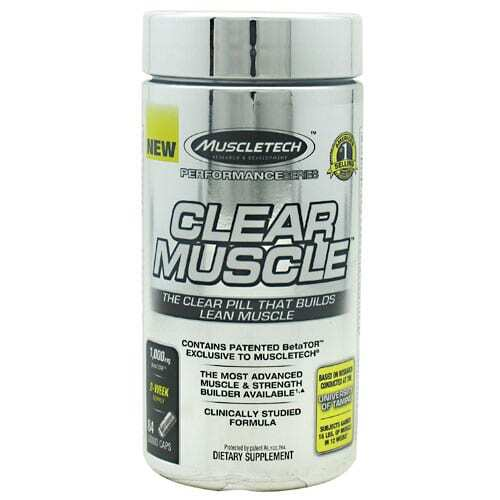 MuscleTech Clear Muscle - 84 Capsules-0