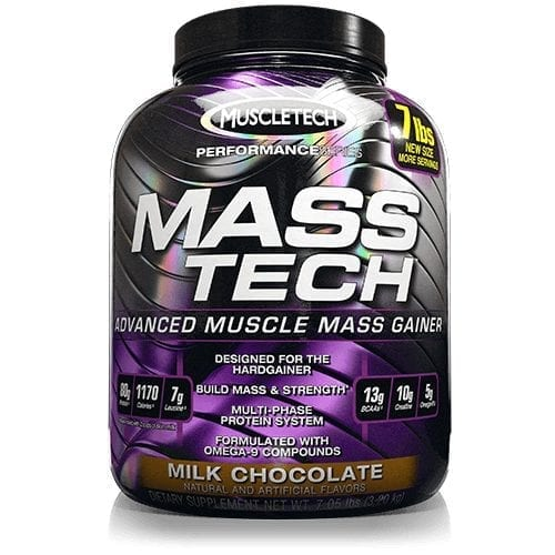 Mass Tech by MuscleTech - Milk Chocolate - 7lb - 13 Servings-0