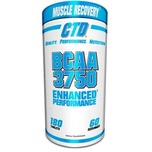 BCAA 3750 - 180 Tablets - by CTD-0