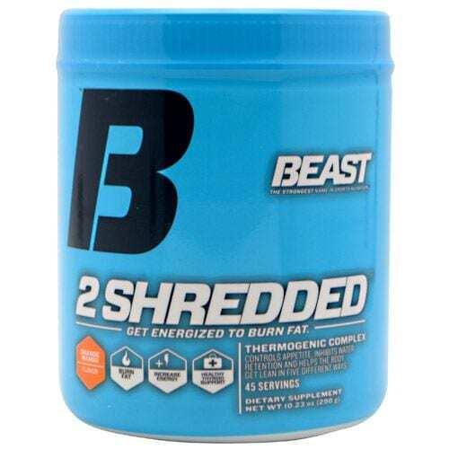 Beast 2 Shredded - Orange Mango - 45 Servings-0