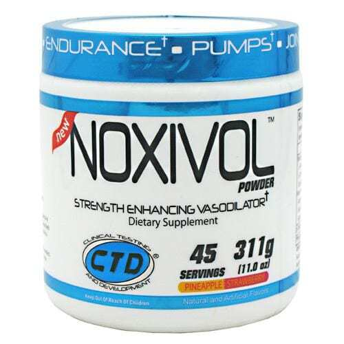 Noxivol Powder Pineapple Strawberry - 45 Servings - by CTD-0
