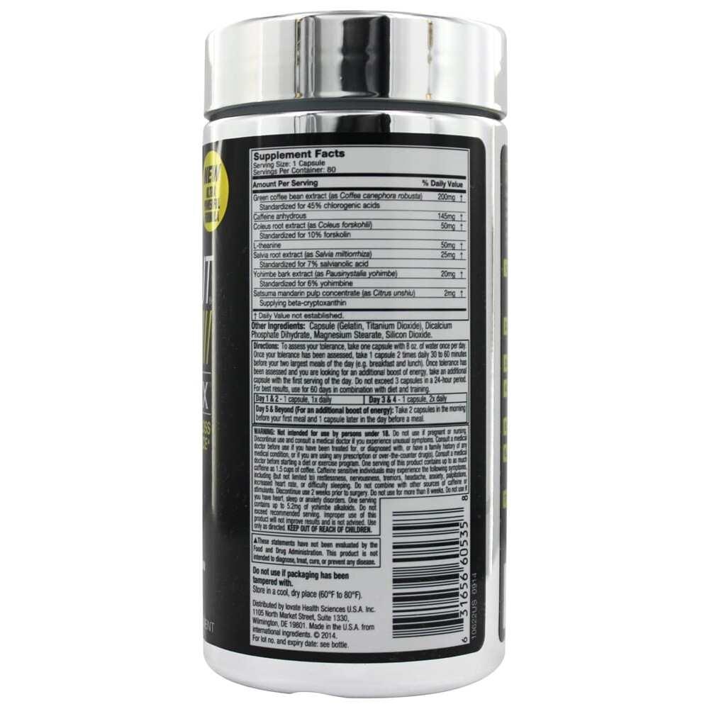 Hydroxycut SX-7 Black Onxy - 80 Capsules-586