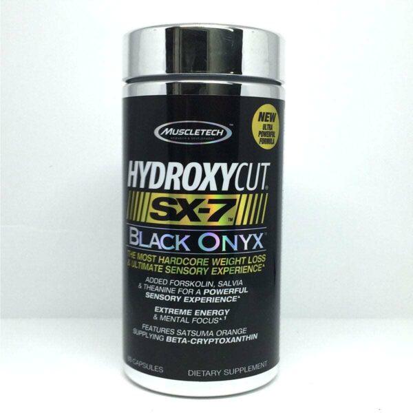 Hydroxycut SX-7 Black Onxy - 80 Capsules-0