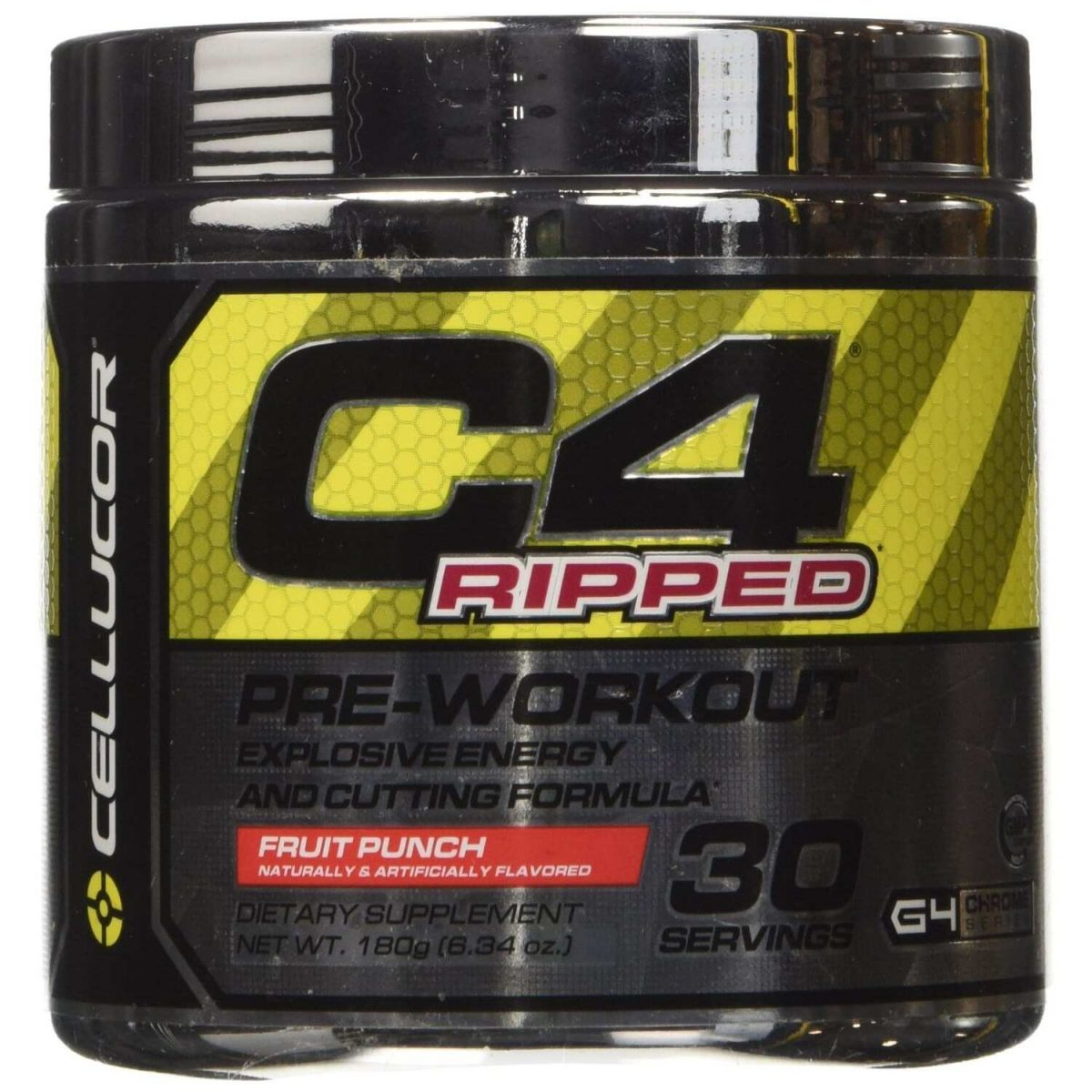 Cellucor C4 Ripped - Fruit Punch - 30 Servings-0