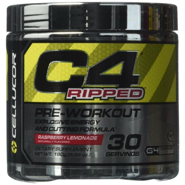 Cellucor C4 Ripped - Raspberry Lemonade - 30 Servings-0