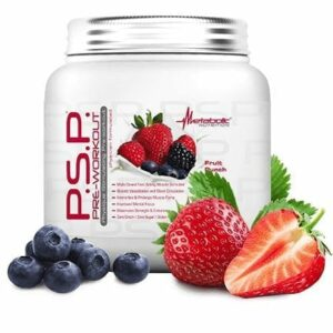 PSP Pre-Workout - Fruit Punch - Metabolic Nutrition