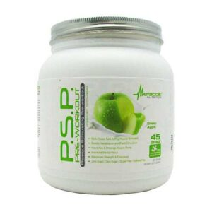 PSP Pre-Workout - Green Apple - Metabolic Nutrition