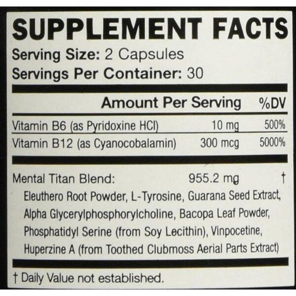 KOIOS Brain Food Supplement - 60 Capsules-729