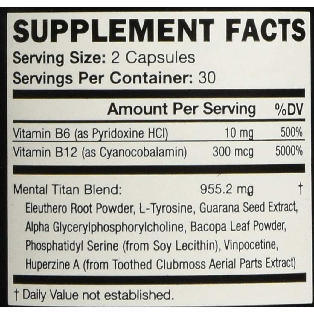 KOIOS Brain Food Supplement - 60 Capsules-729