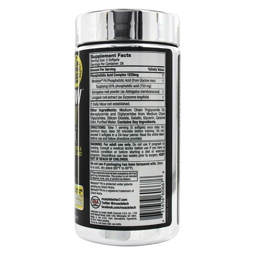 MuscleTech PhosphaGrow SX-7 - 140 Softgels-722