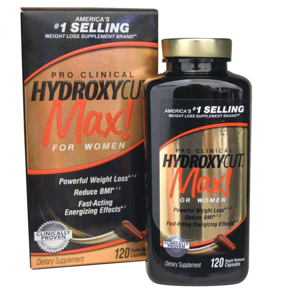 Hydroxycut Max for Women - 120 Capsules-0