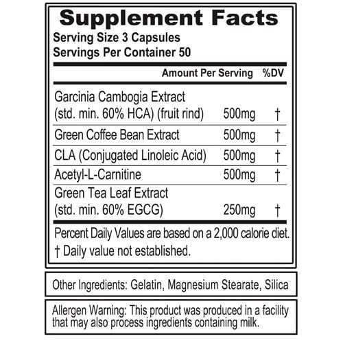 Lean Mode by Evlution Nutrition - 150 Capsules-792