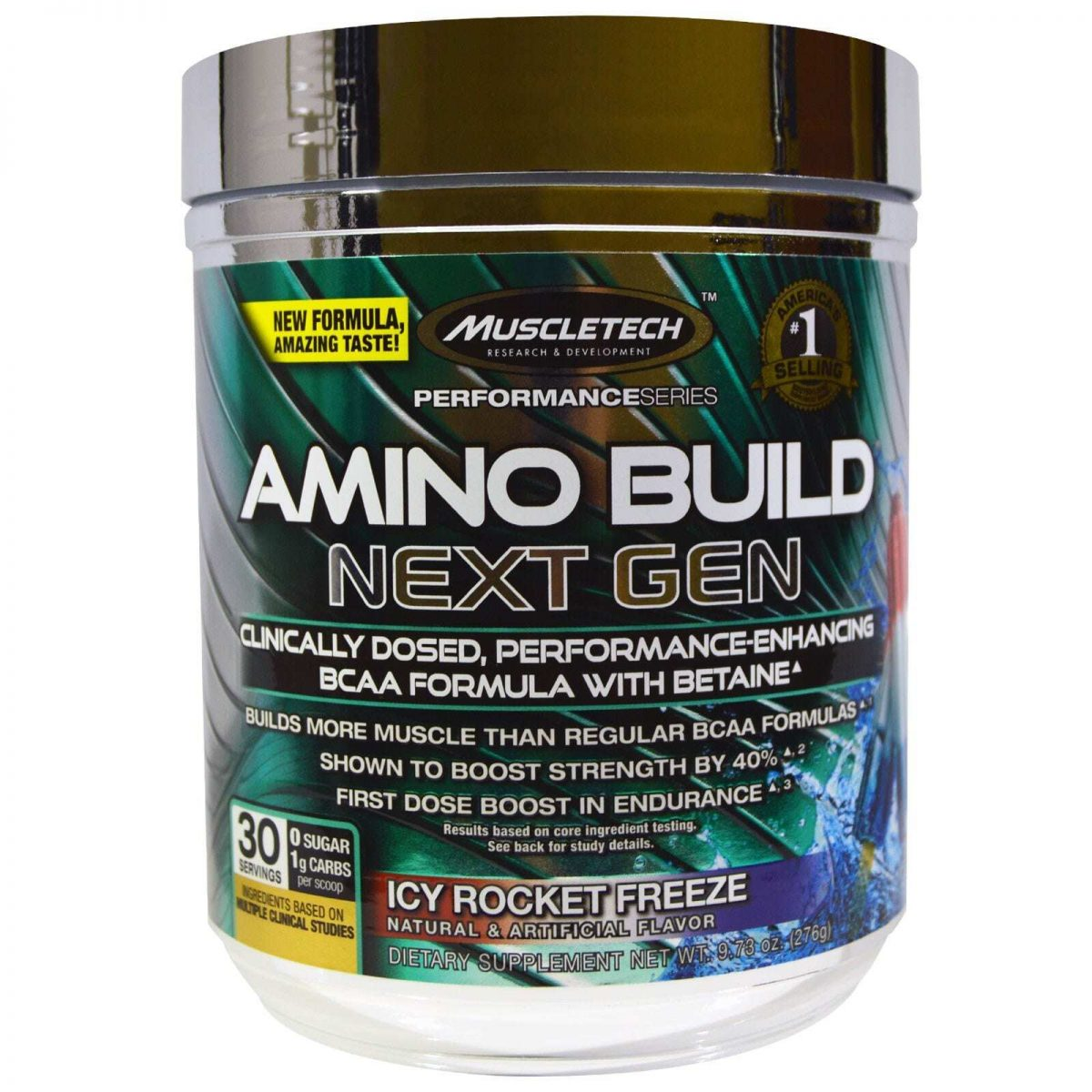 MuscleTech Amino Build - Icy Rocket Freeze - 30 servings