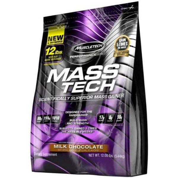 MuscleTech Performance Series Mass Tech - Milk Chocolate - 12 lbs