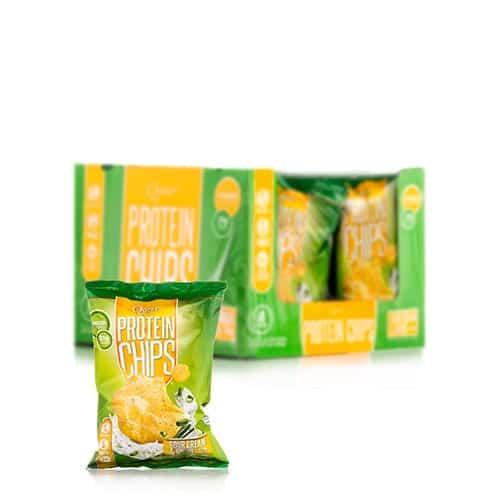 Quest Nutrition Protein Chips - Sour Cream & Onion - 16 - 1 1/8 oz Bags