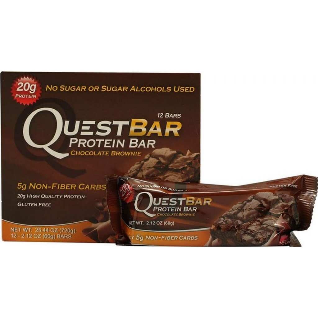 Quest Nutrition Quest Protein Bar - Rocky Road - 12 - 2.12oz (60g) Bars
